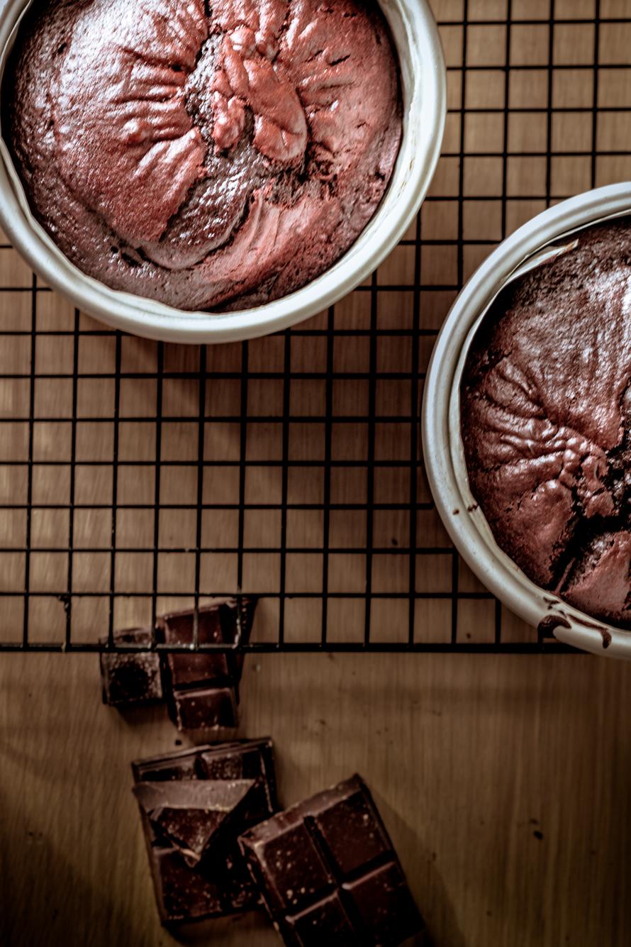 Buttermilk Chocolate Cake – Gâteau au chocolat