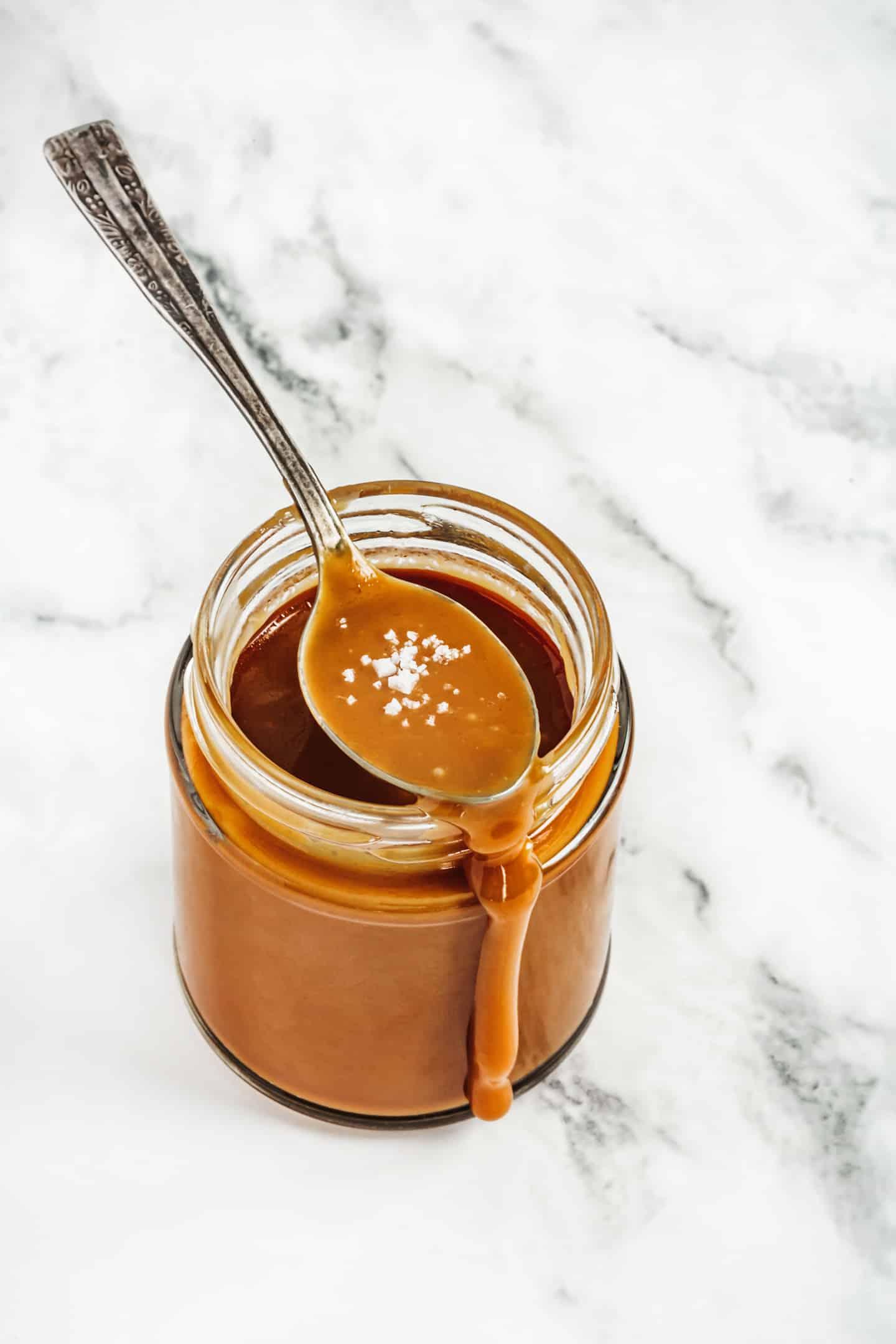 Recette du caramel au beurre salé