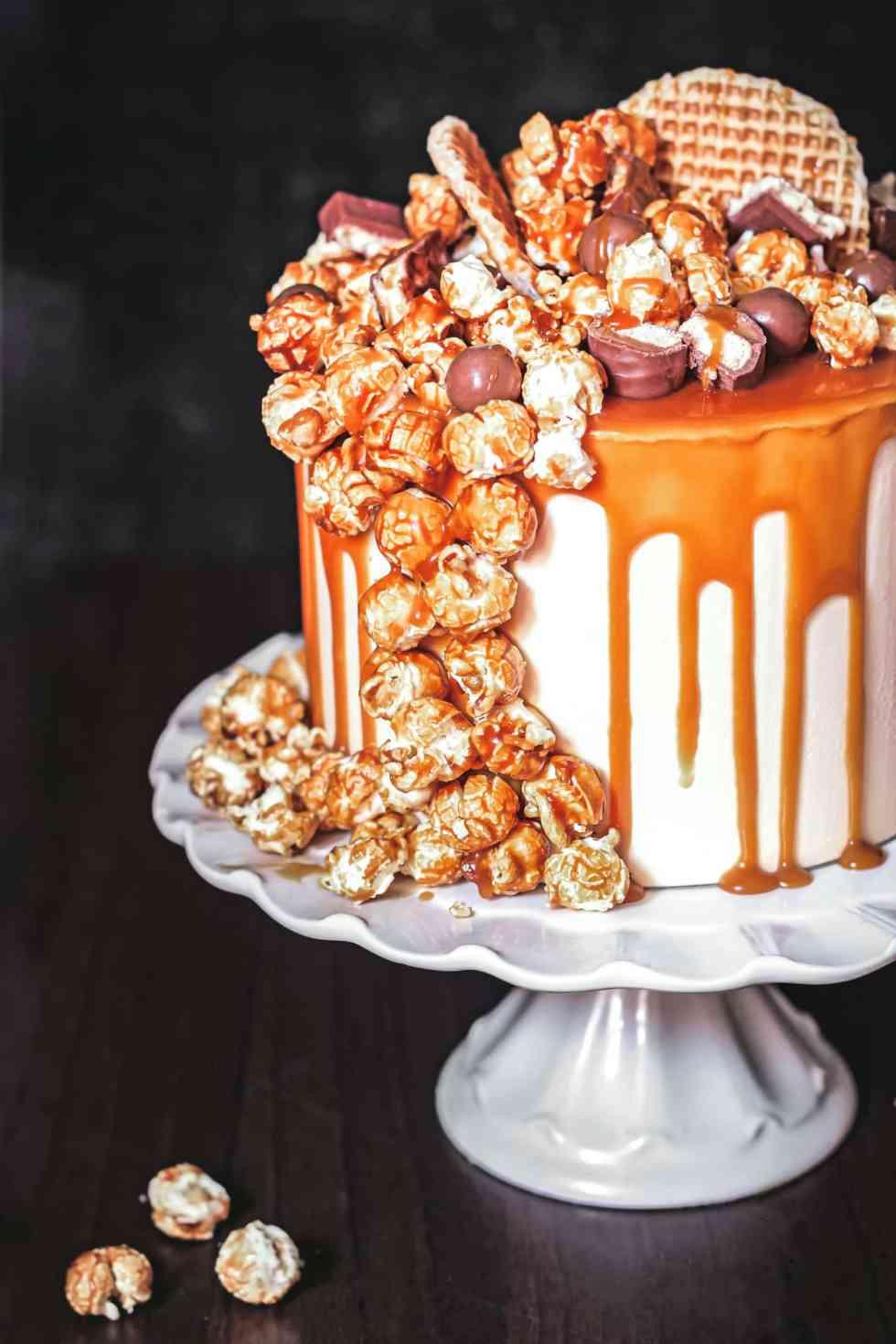 Layer cake au cheesecake