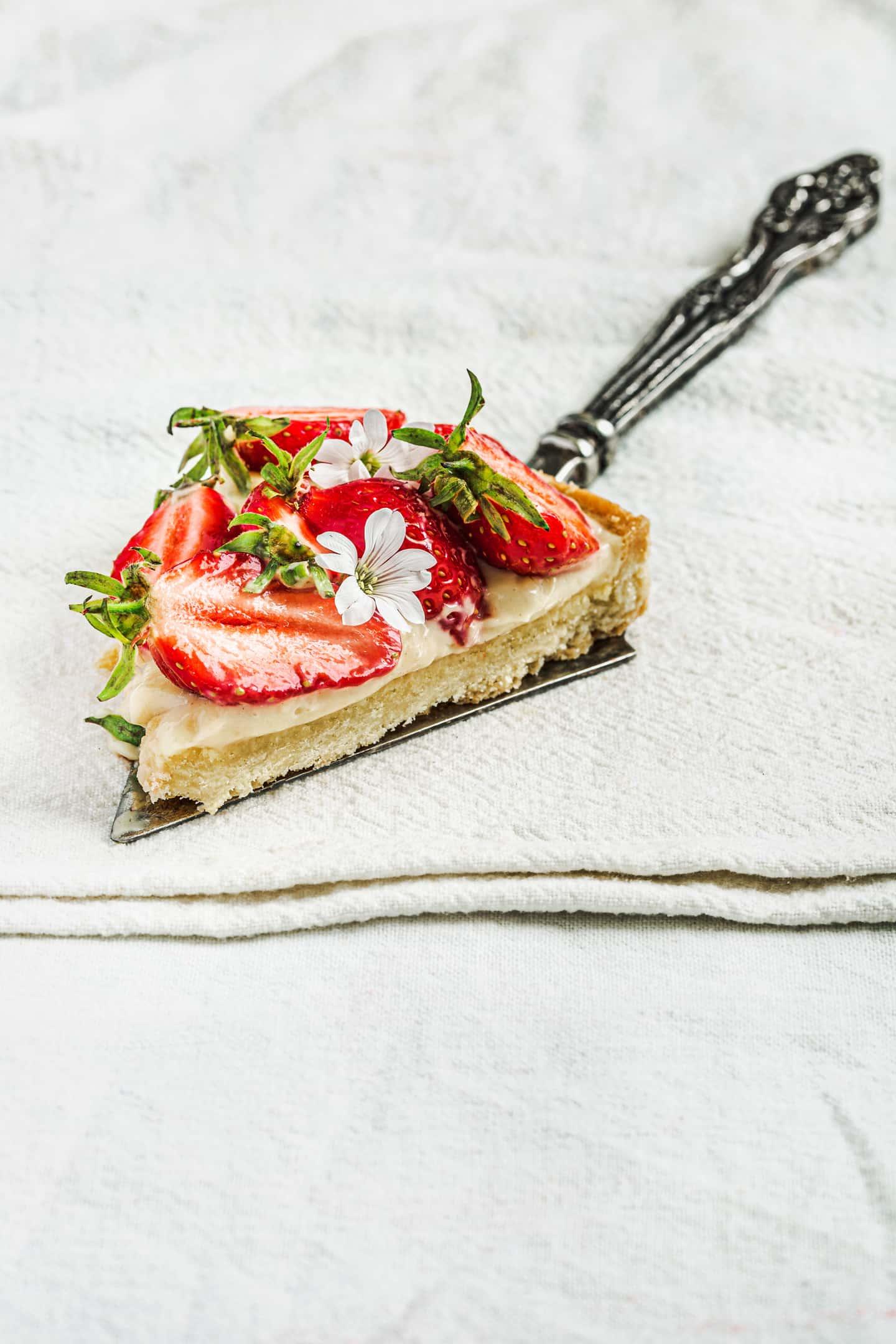 Tarte aux fraises facile et maison
