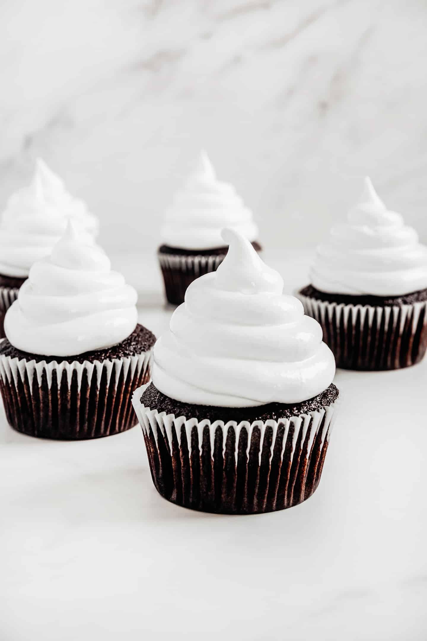 Cupcakes chocolat et glaçage Ffuff maison