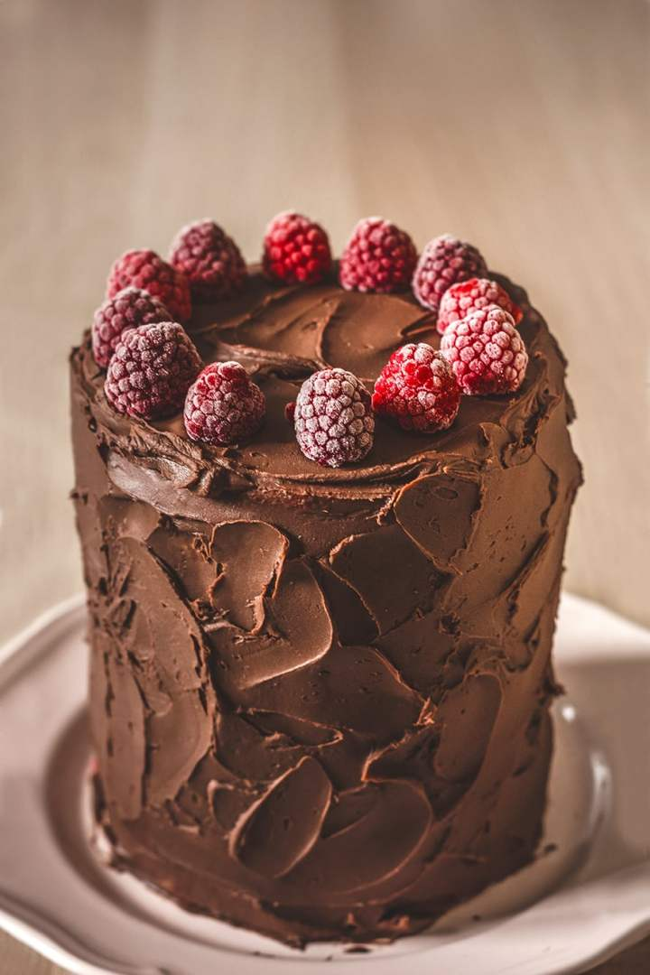 Layer cake avec la recette de la ganache au chocolat