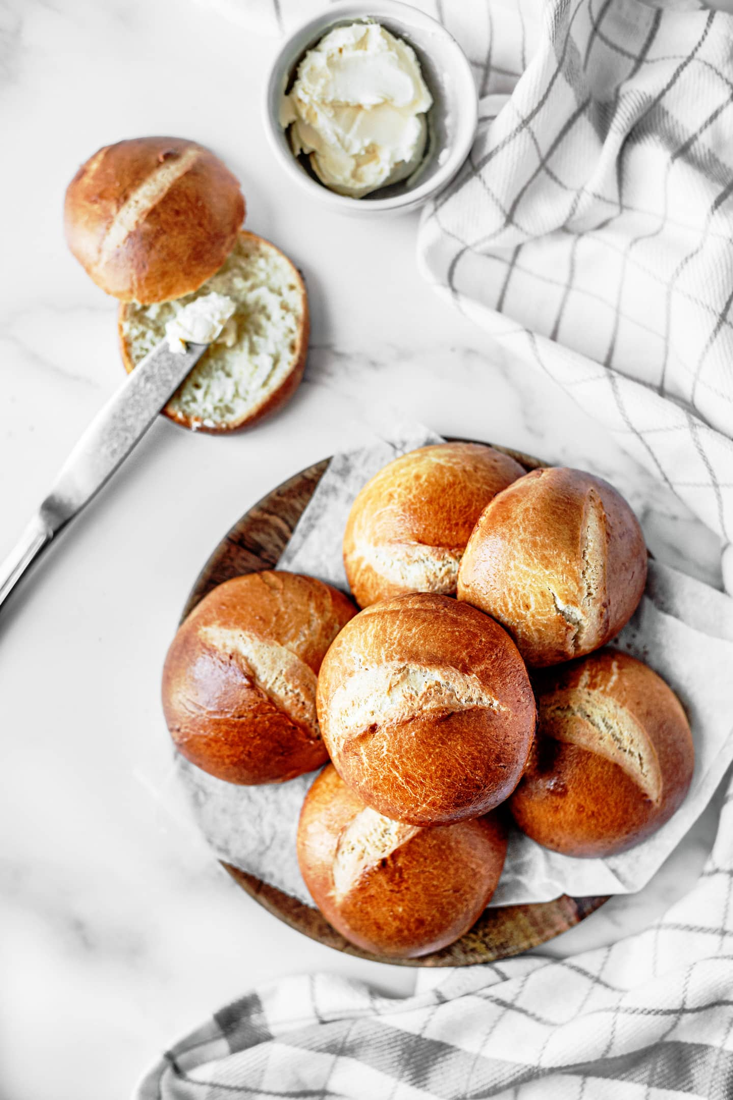 Buns maison pain burger