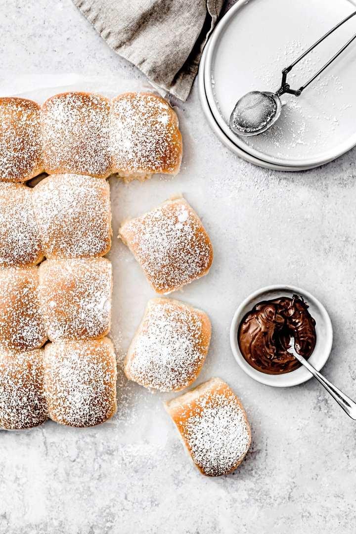 Easy sweet yeast rolls recipe