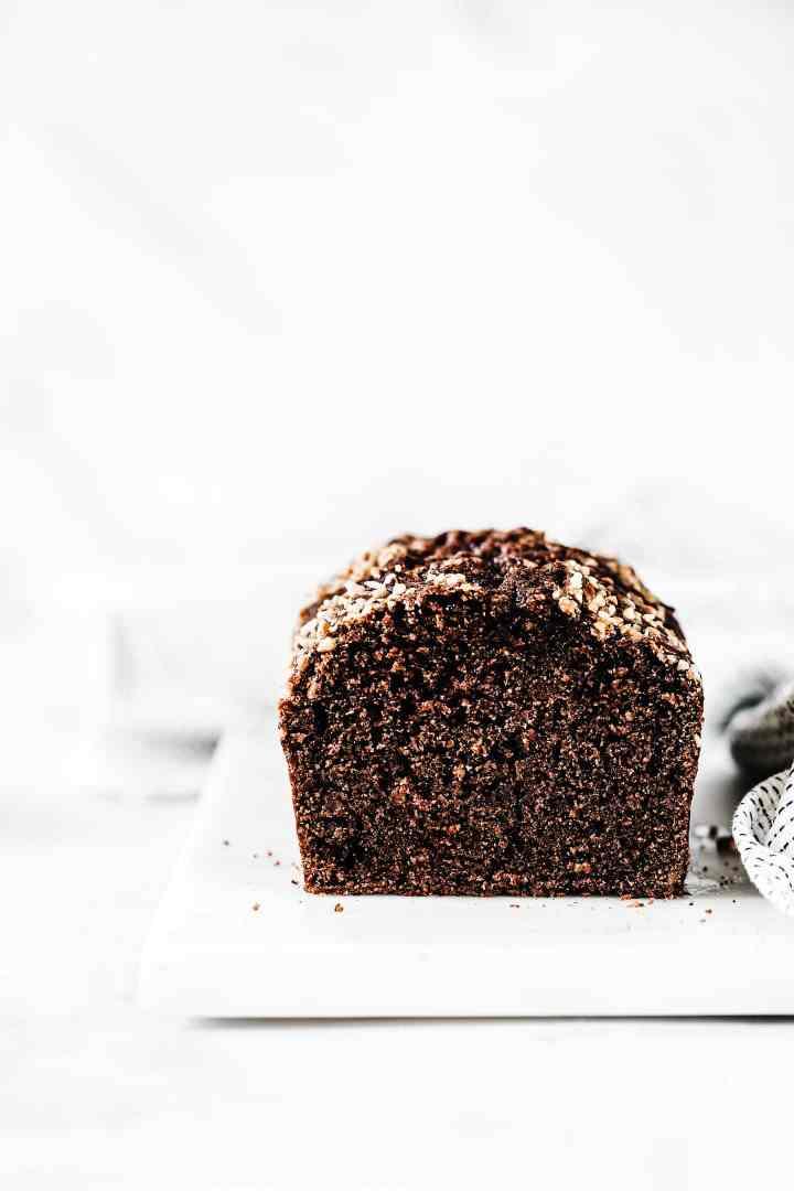 Best chocolate hazelnut loaf cake