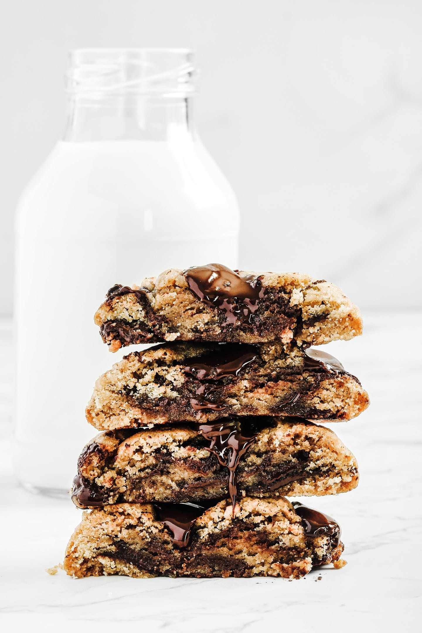 Homemade chewy cookies recipe