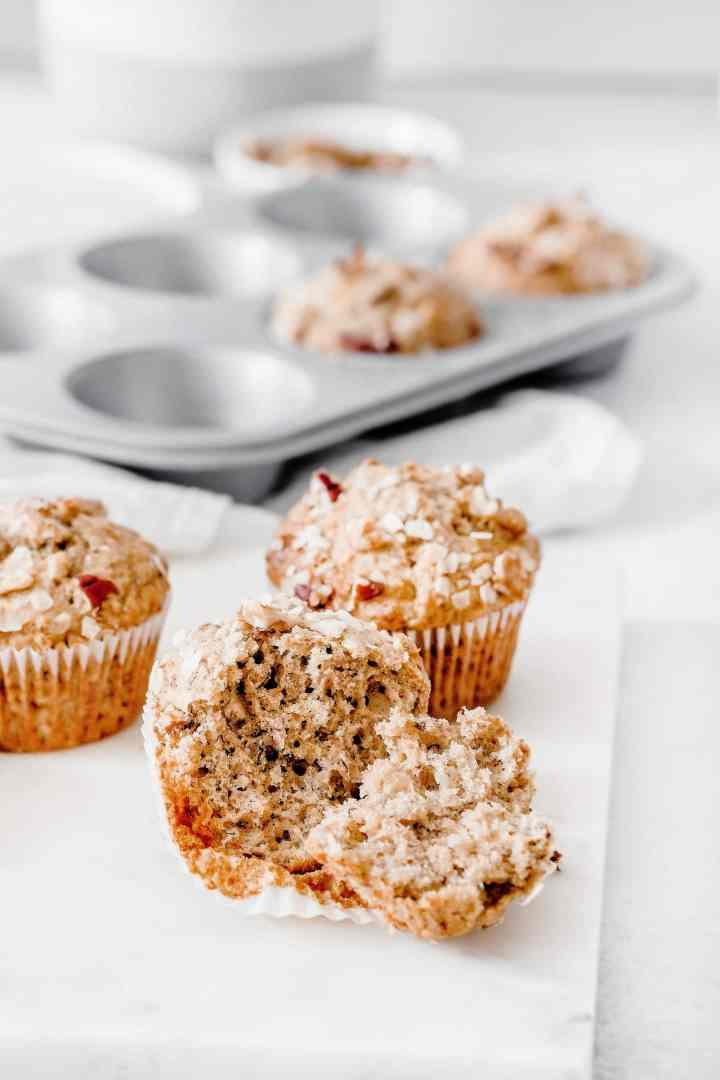 Easy banana muffins recipe
