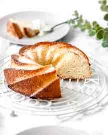 Recette facile du cake au citron façon bundt cake
