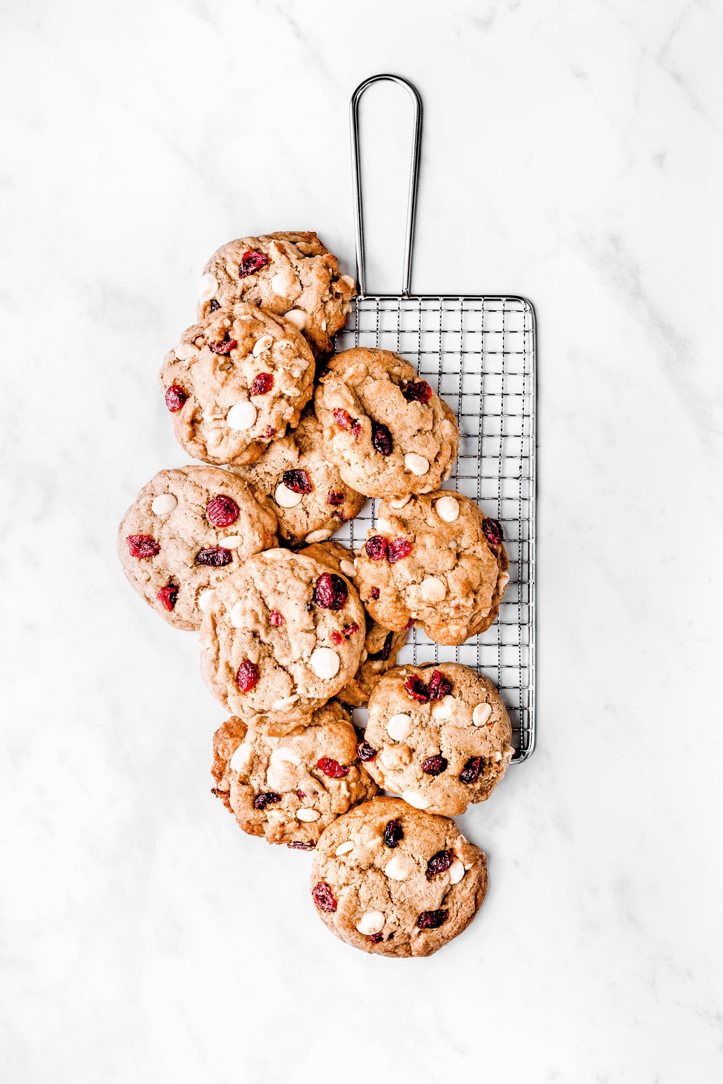 Recipe for white chocolate cranberry cookies