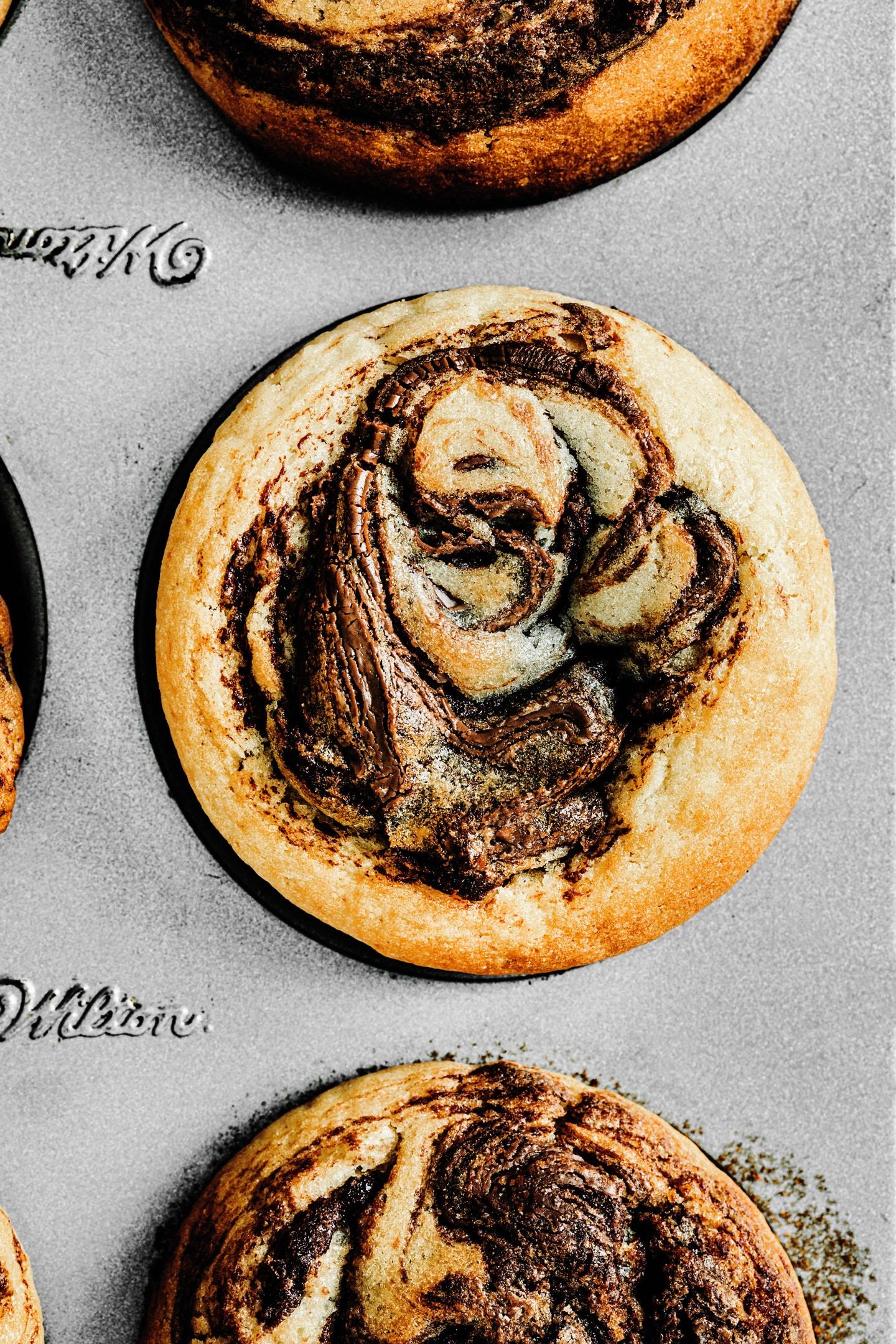 Muffins nutella recipe