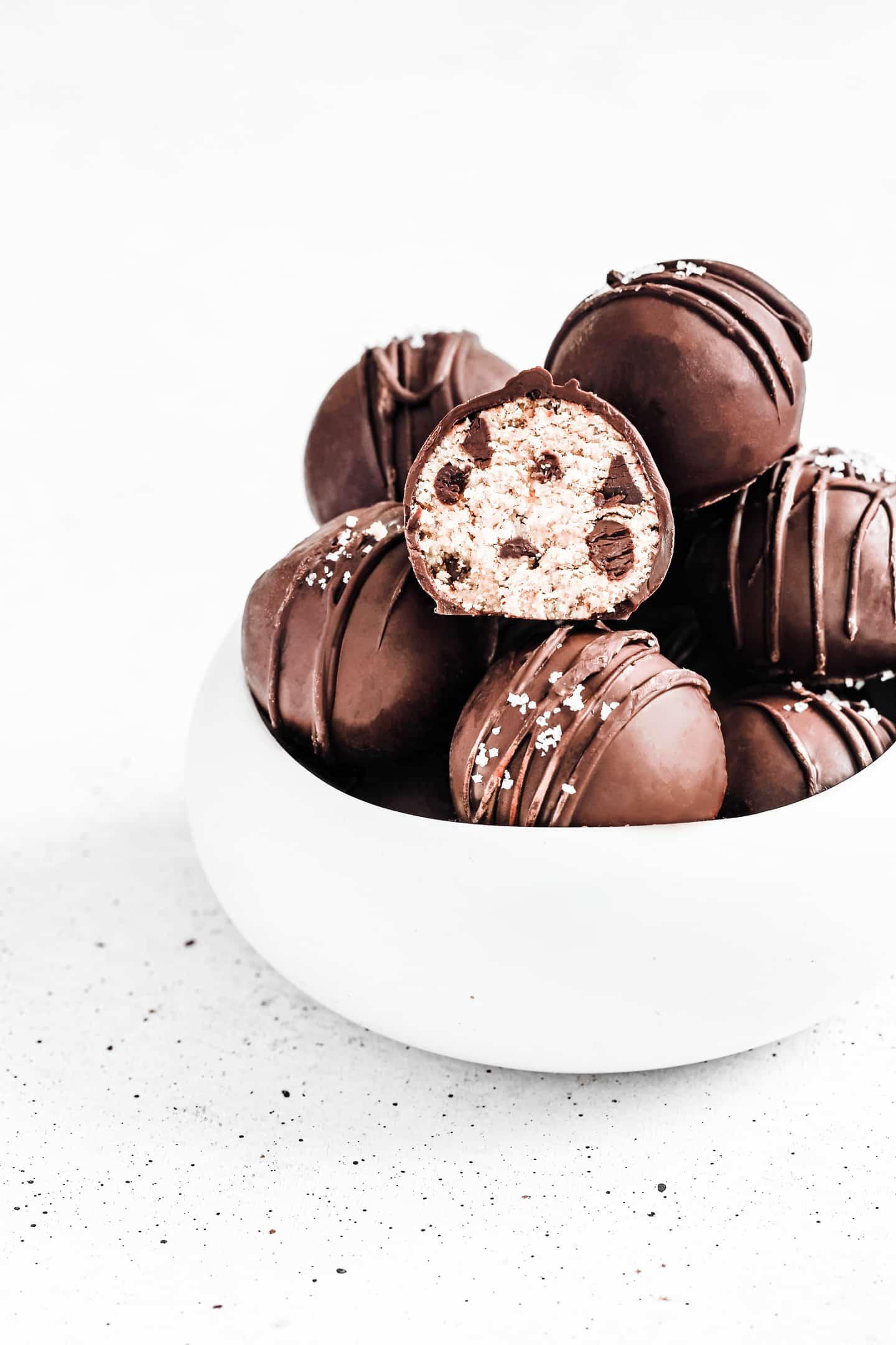 Recette facile des truffes healthy maison