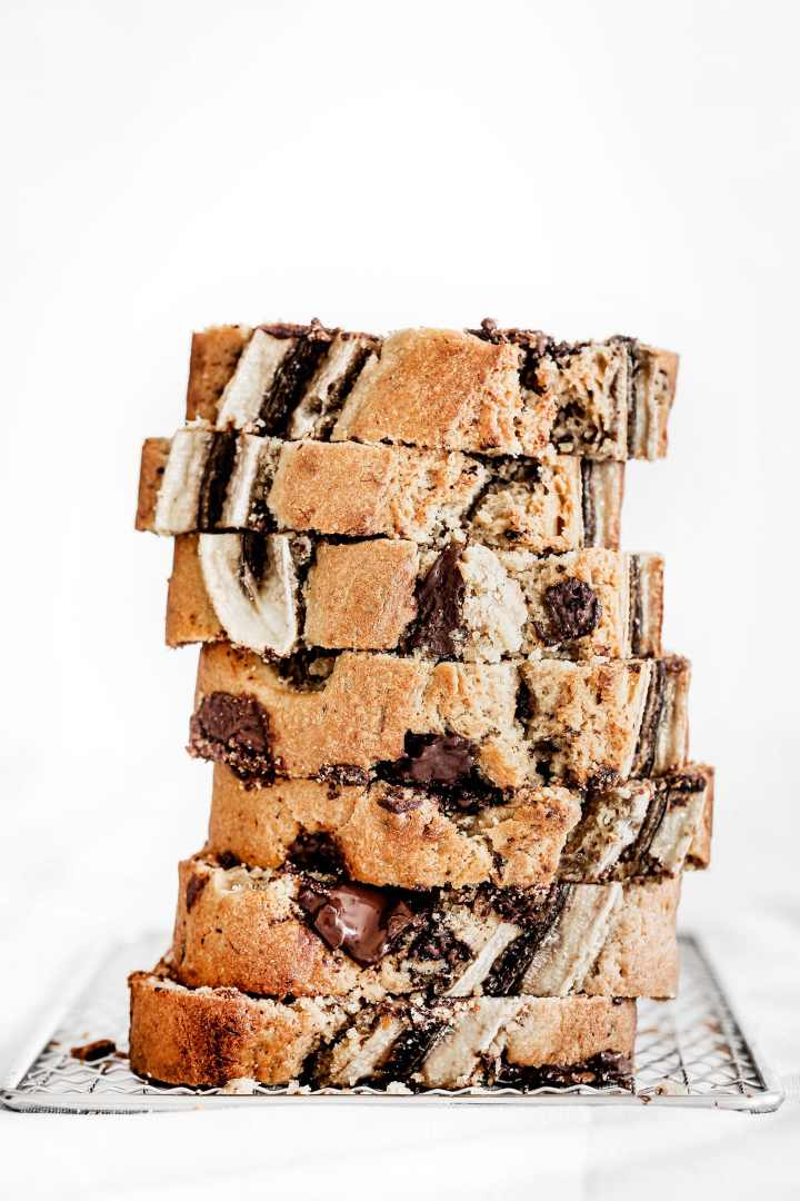 Choc chip banana bread cake recipe