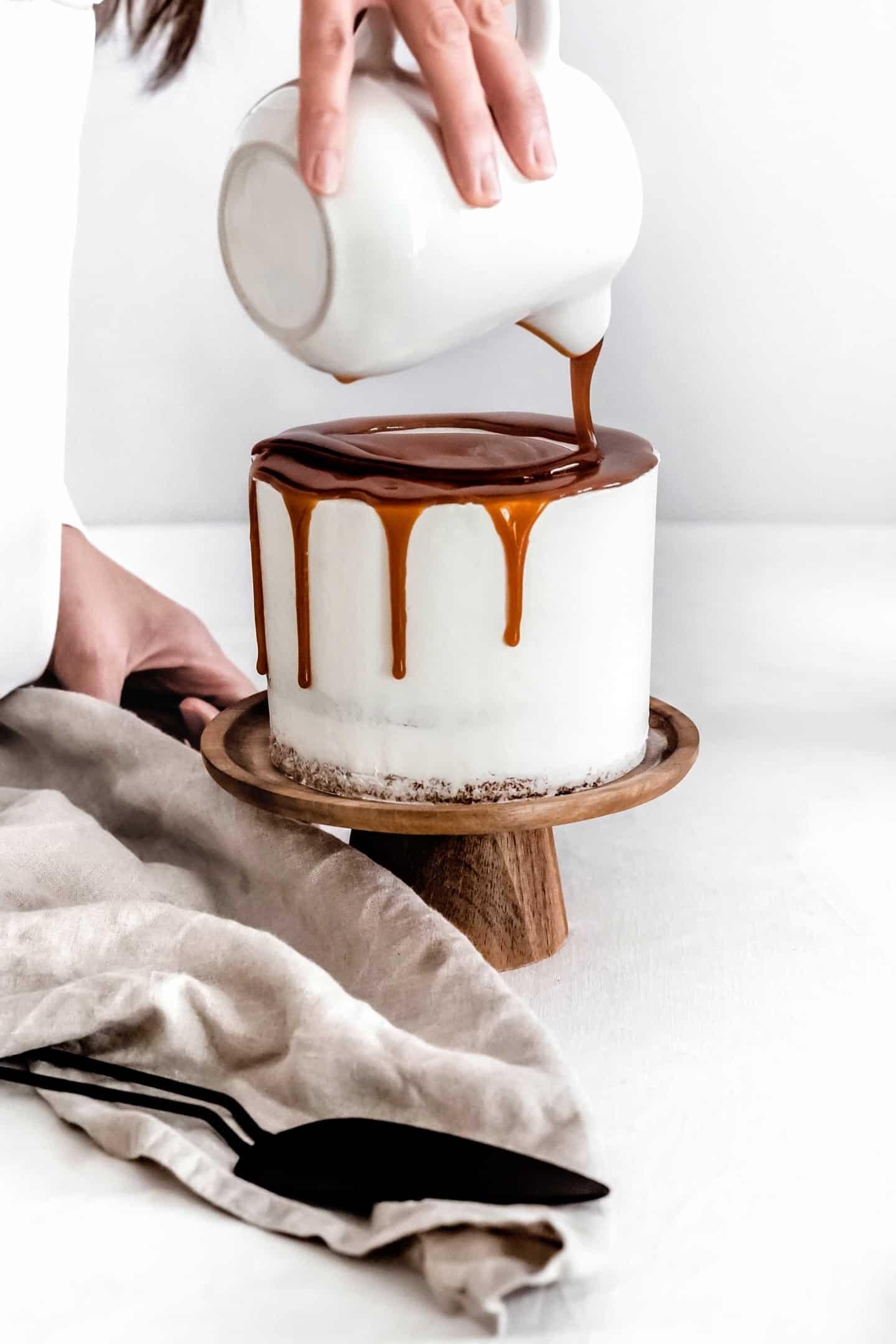 Layer cake caramel