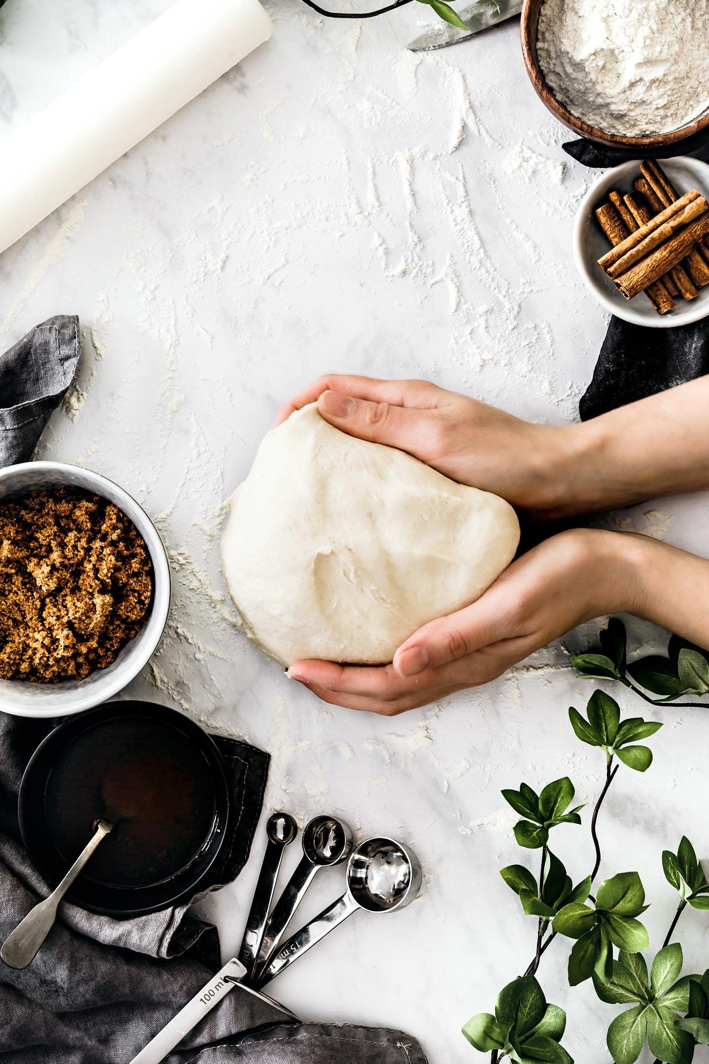 bun pastry dough