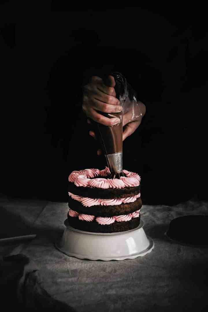 Recette facile de layer cake au chocolat