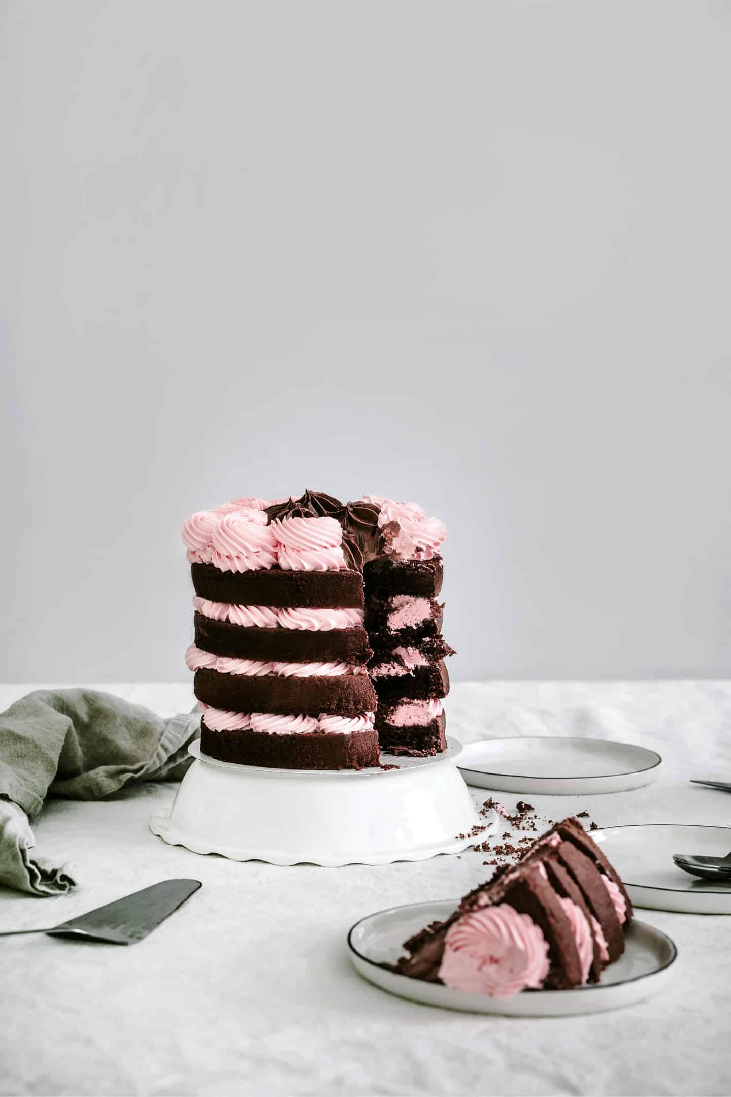 Chocolate nude cake recipe