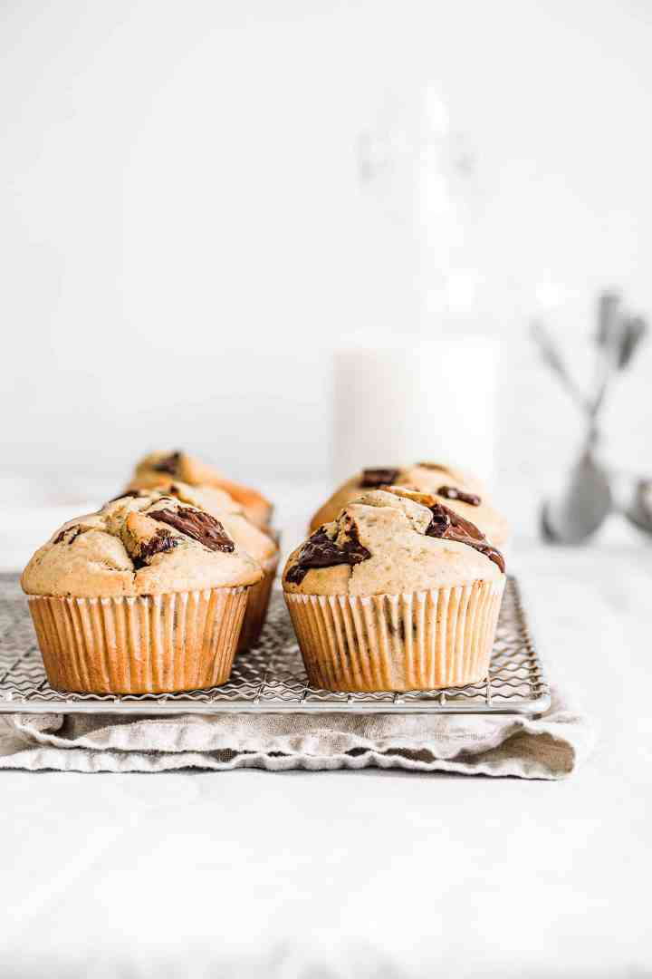 How to make perfect chocolate chip muffins