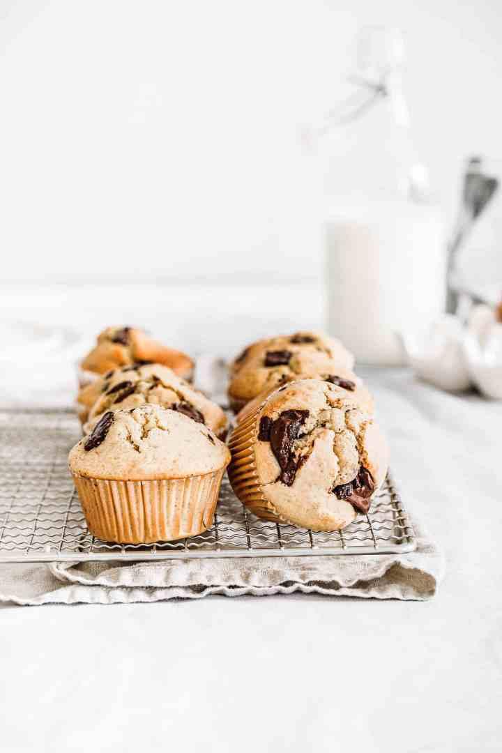 Recette de muffins pépites de chocolat