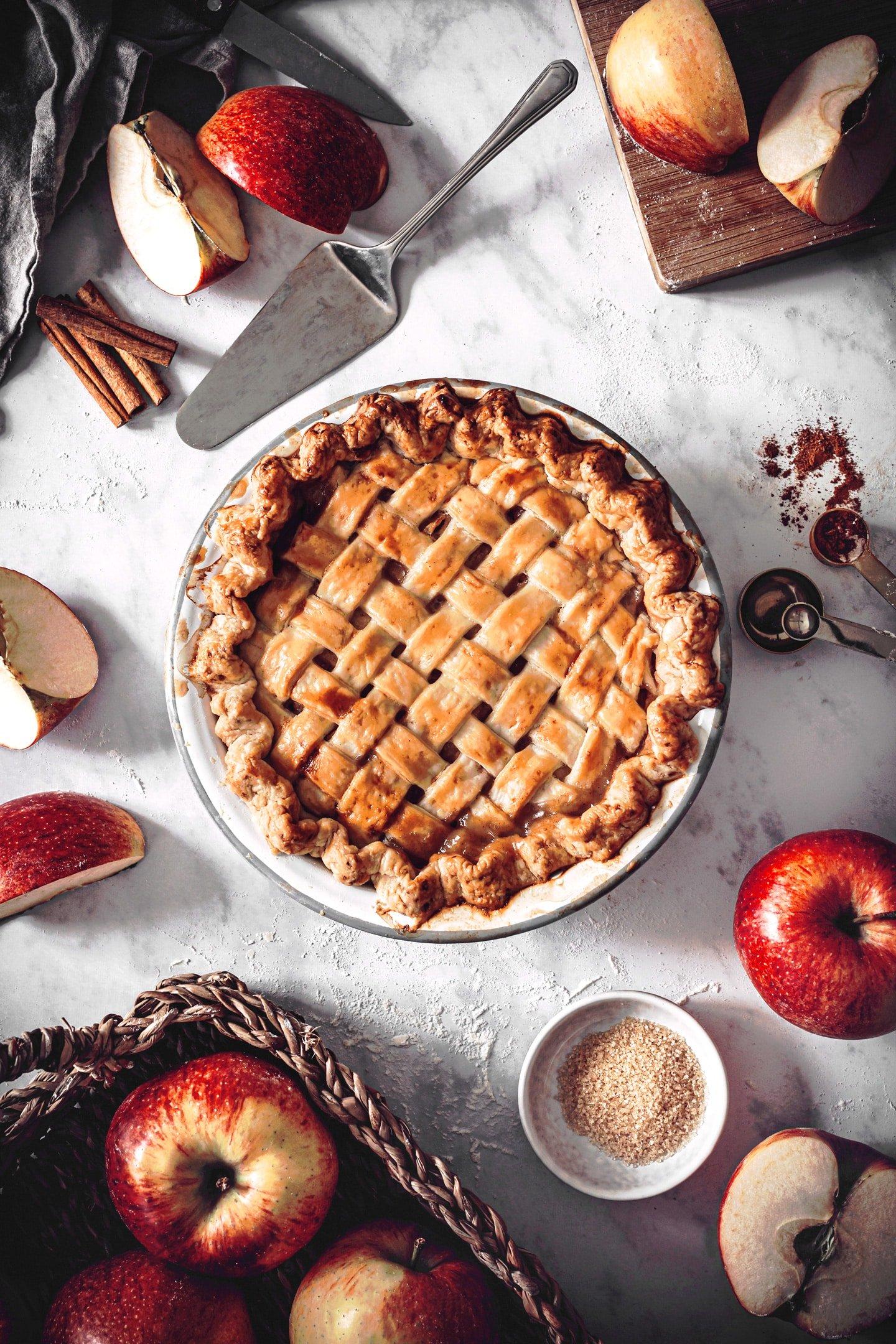 Tourte aux pommes la recette facile