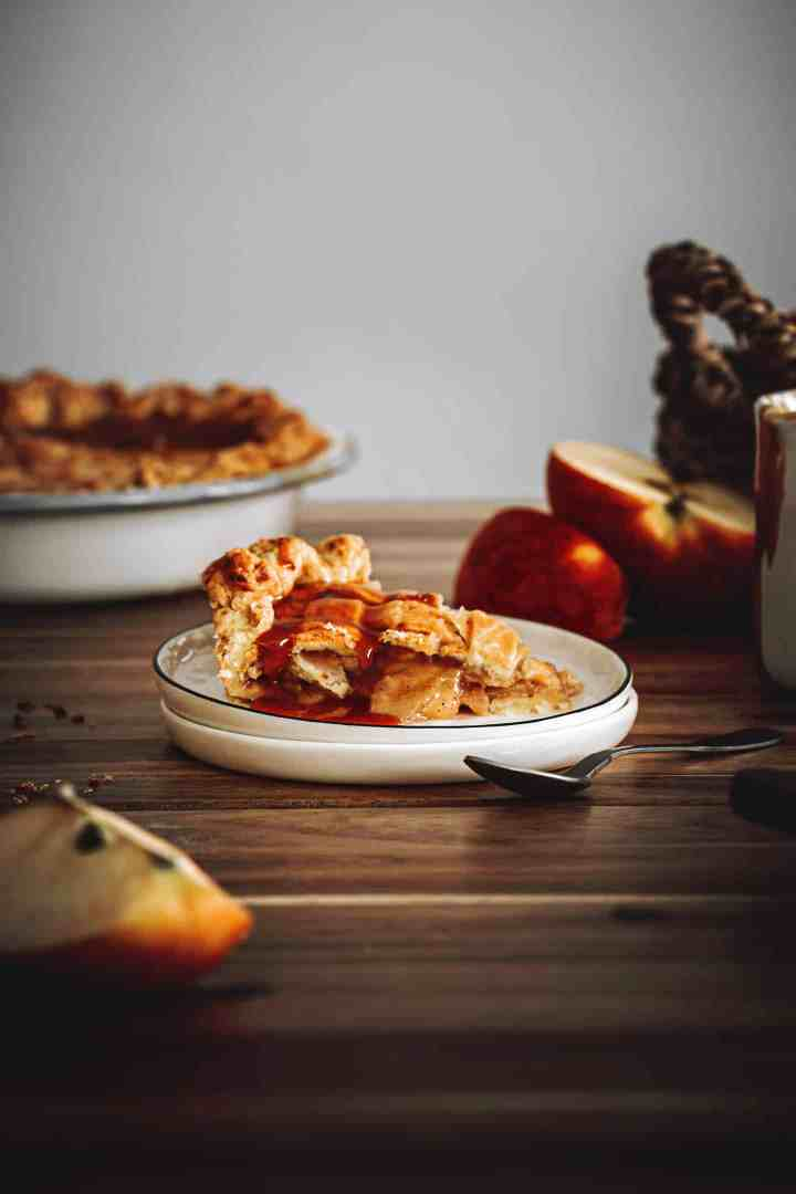 Apple pie white apple cinamon