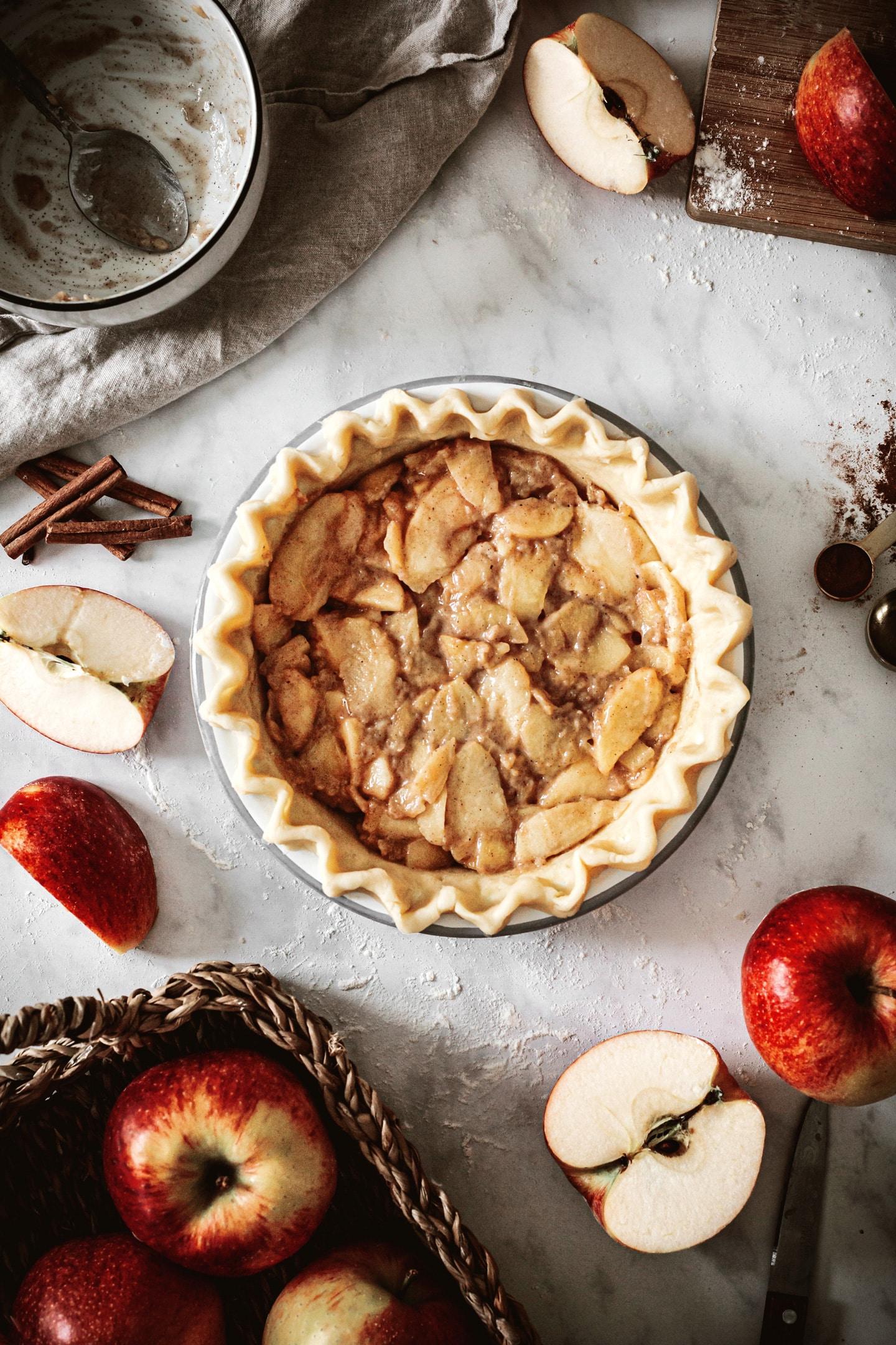La tourte aux pommes Apple Pie