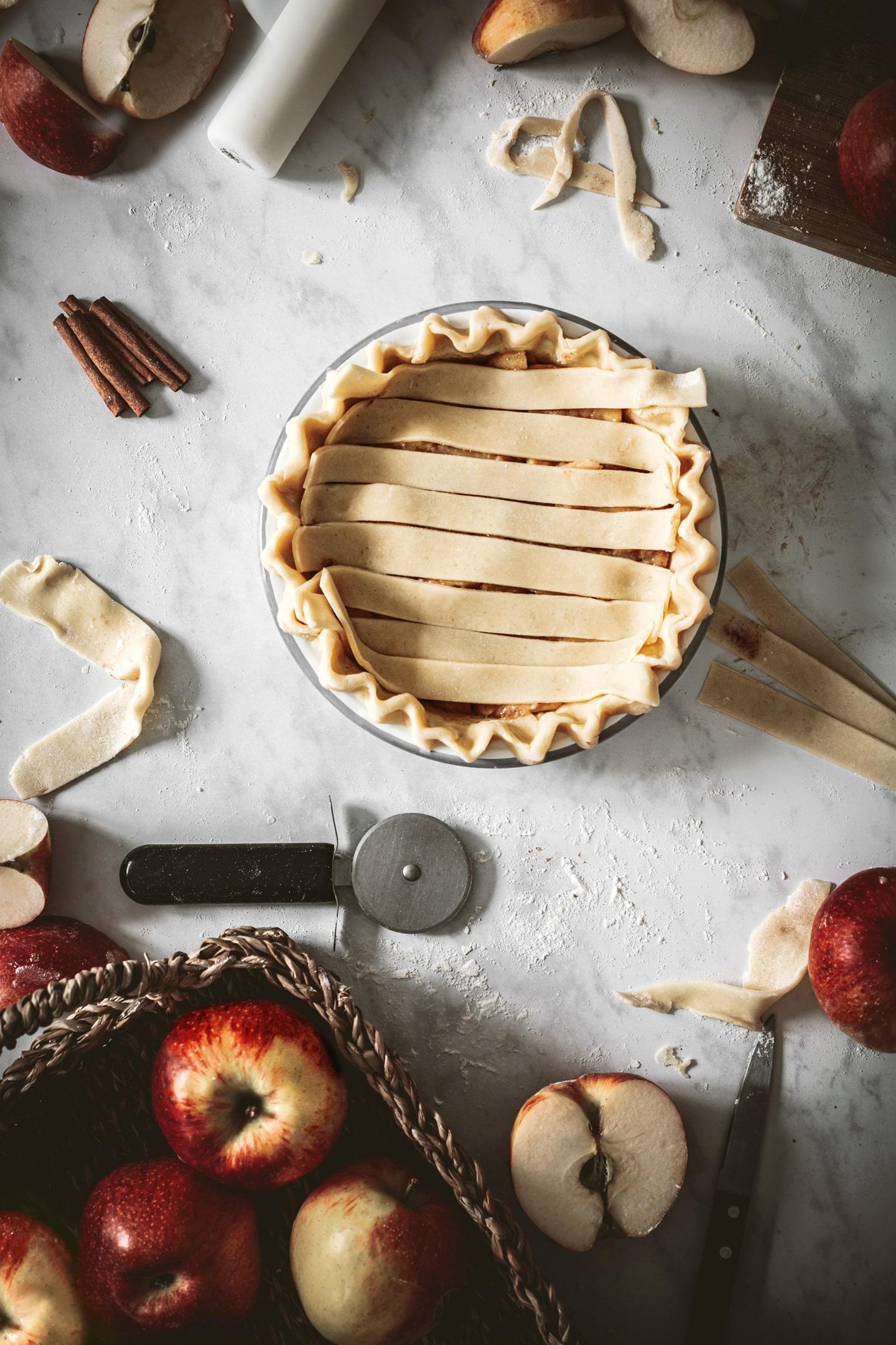 Décoration pour Apple pie