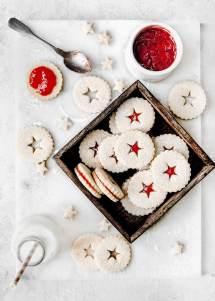 Les biscuits sablés confiture