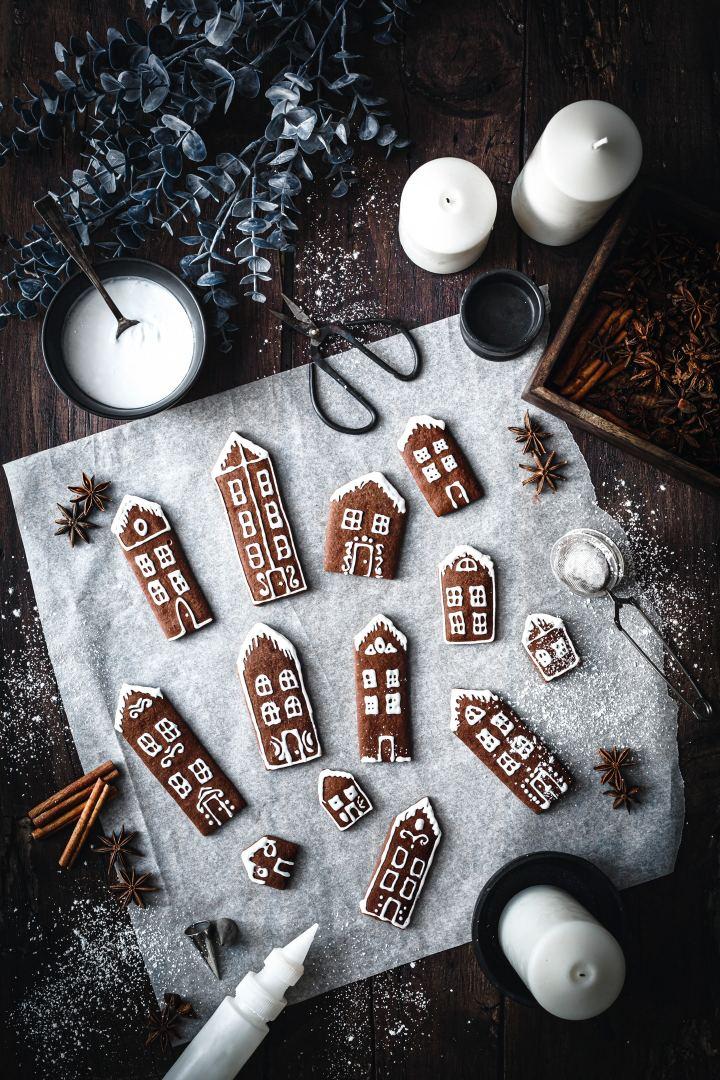 Gingerbread houses cookies