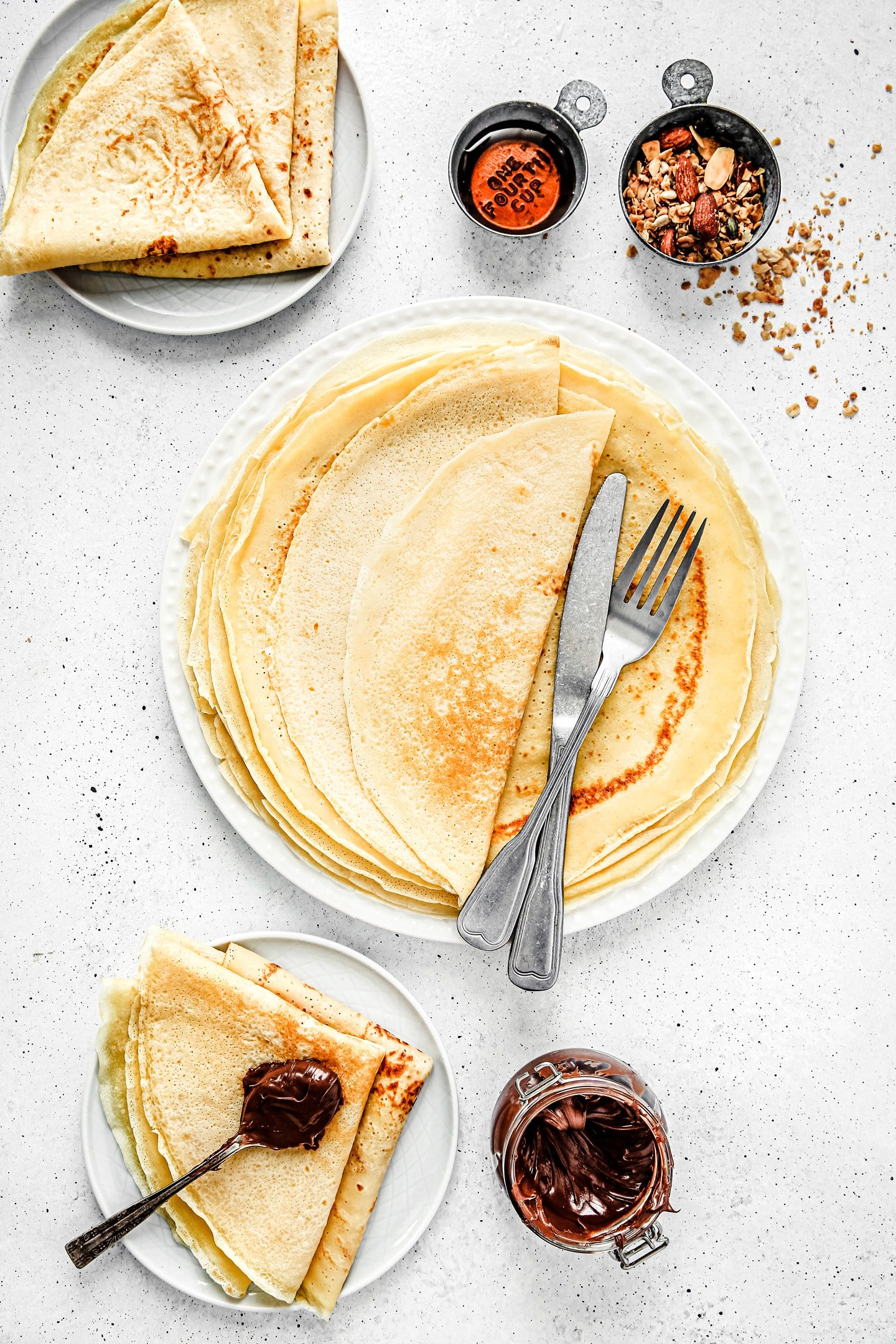 French Crepes Recipe For Simply And Easy Crepes