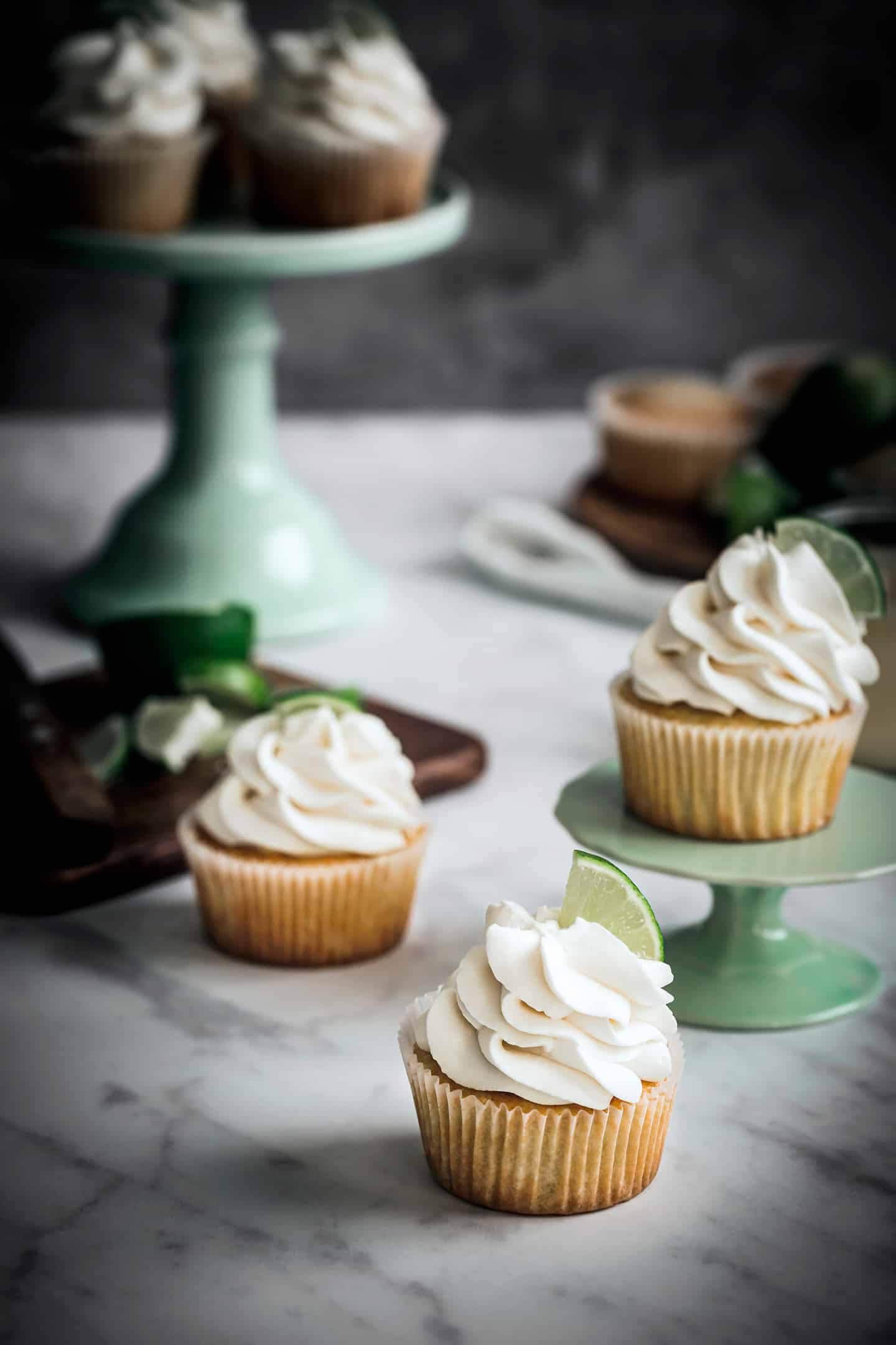 Cupcakes citron et glaçage mascarpone