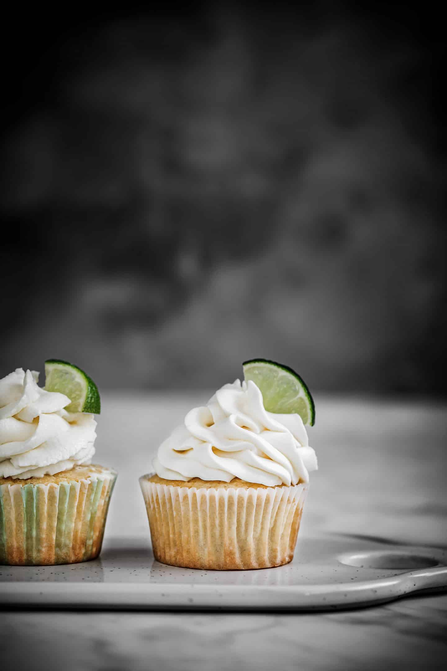 Cupcakes lemon curd et chantilly