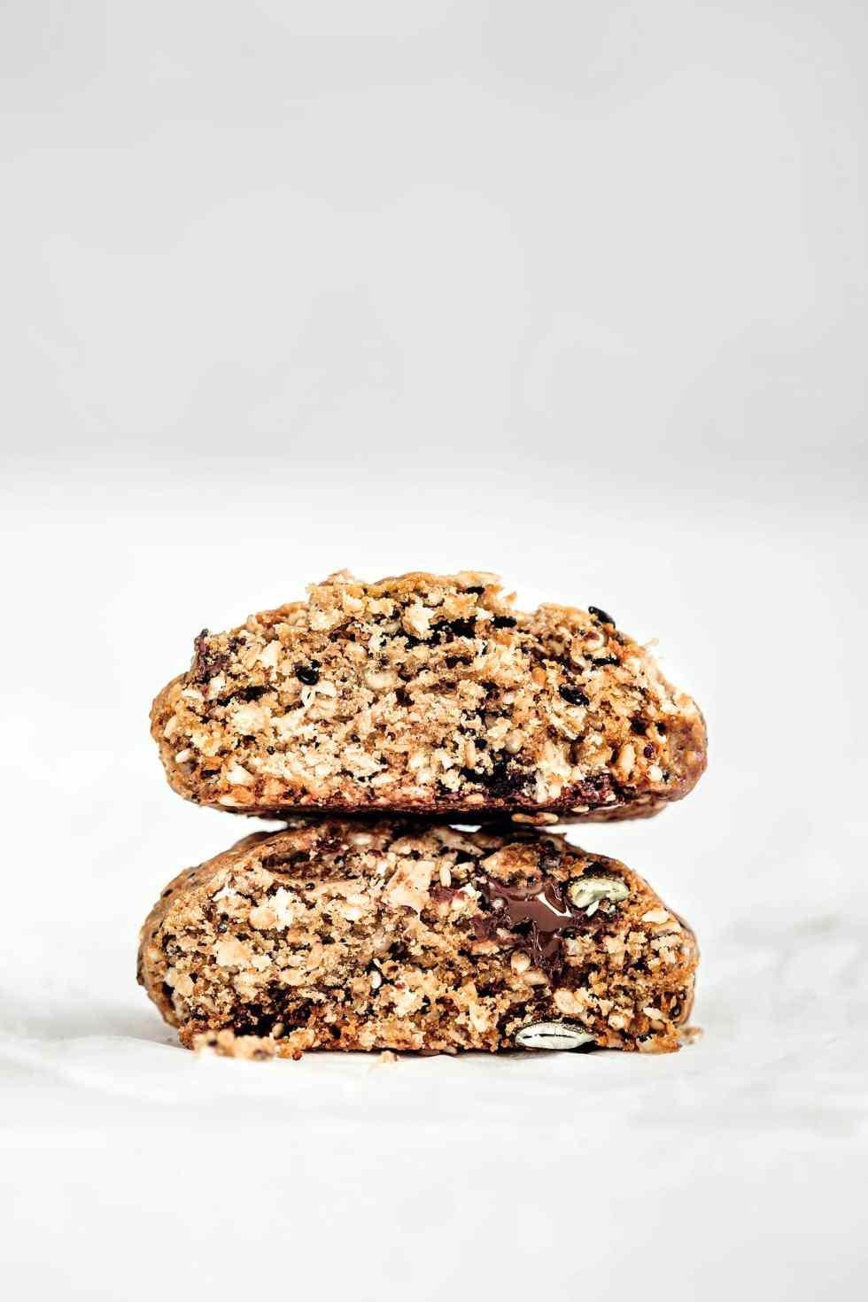 Cookies aux graines et chocolat