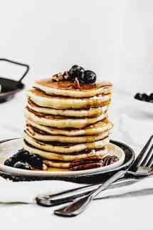 Recette facile de pancakes fluffy