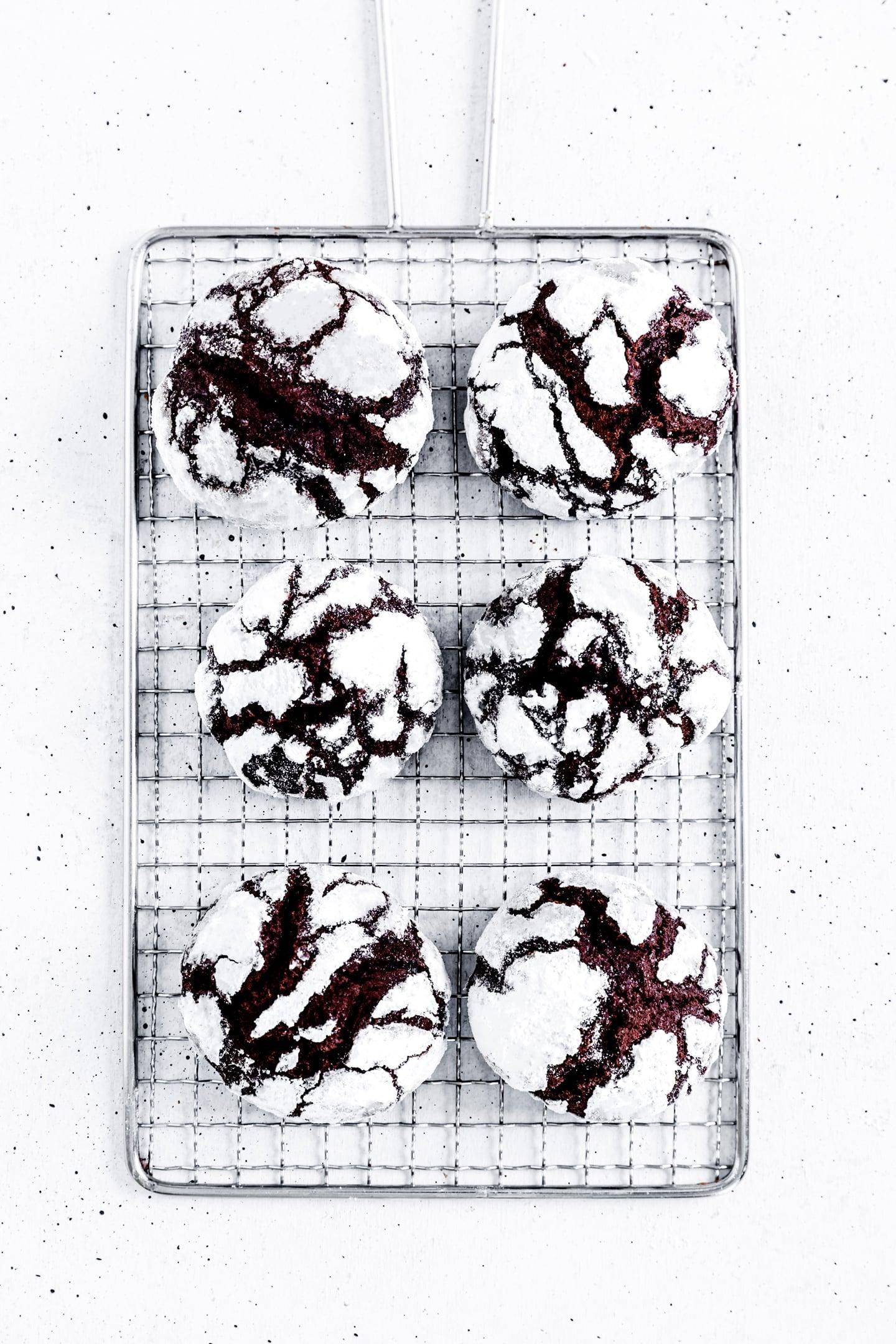 Les crinkles au chocolat