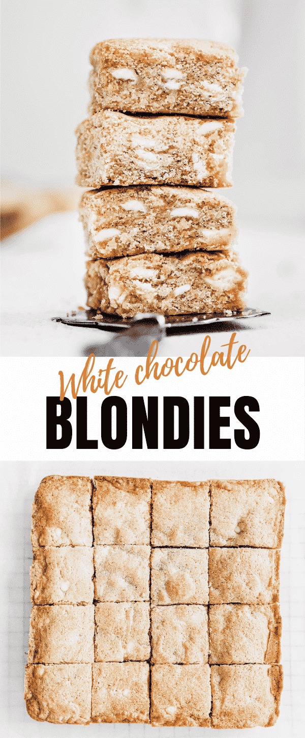 blondie recipe