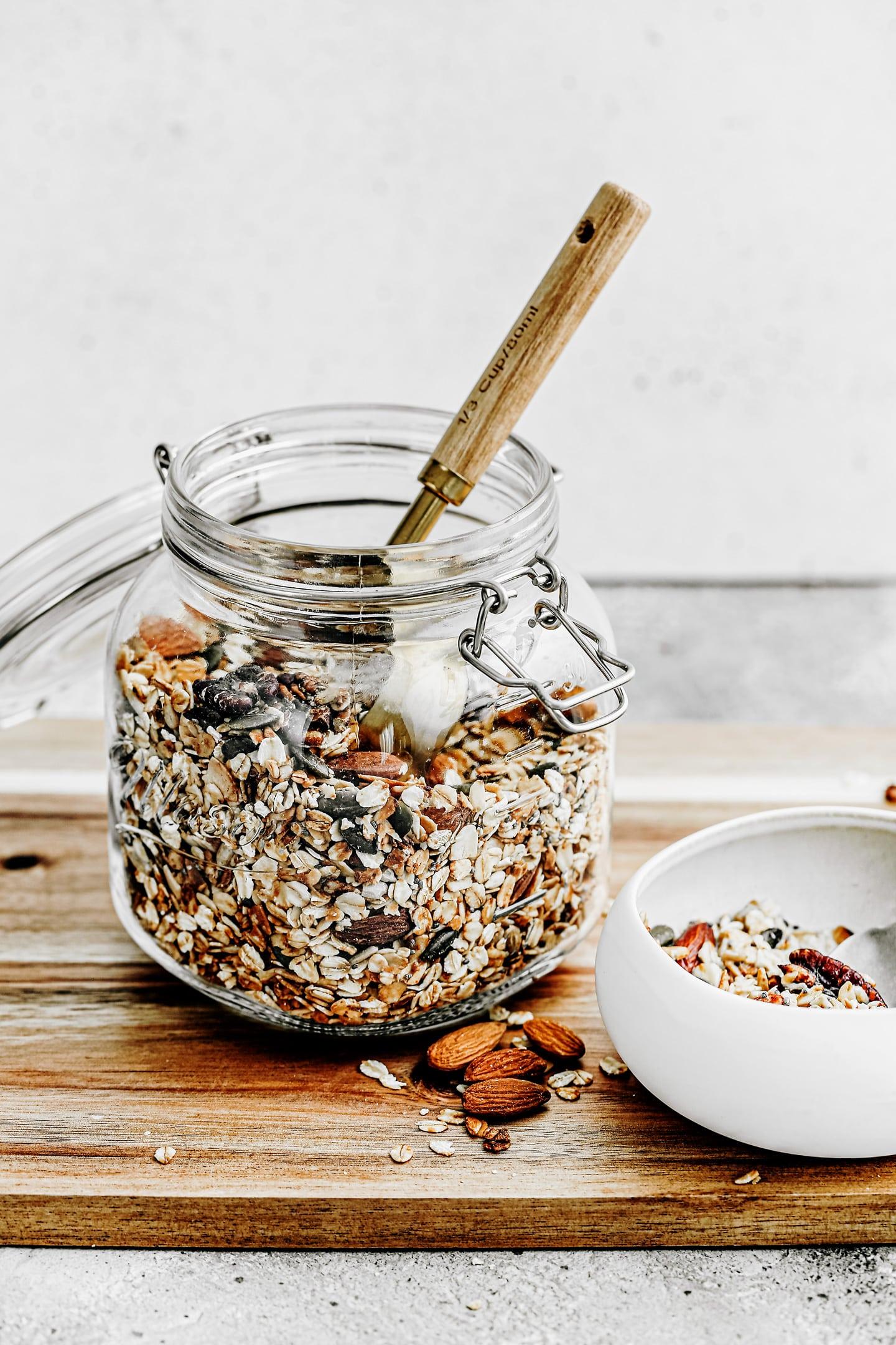 Perfect homemade granola recipe