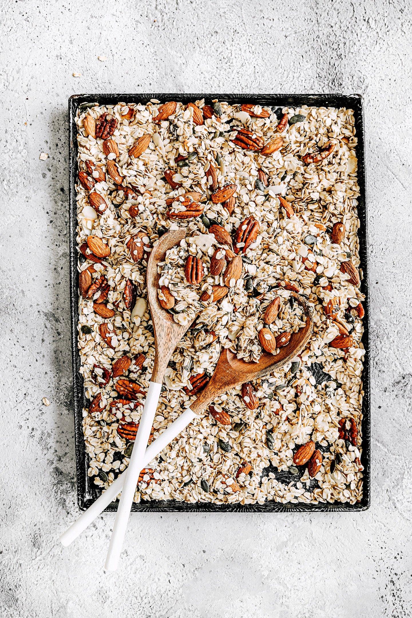 Recette facile du granola maison