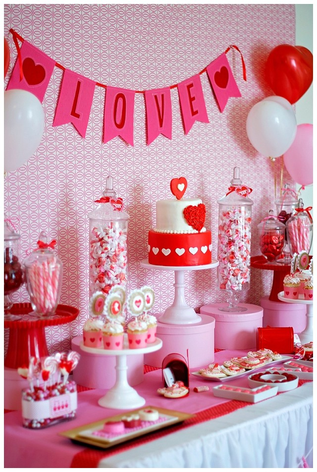 A Sweet Valentines Day Party