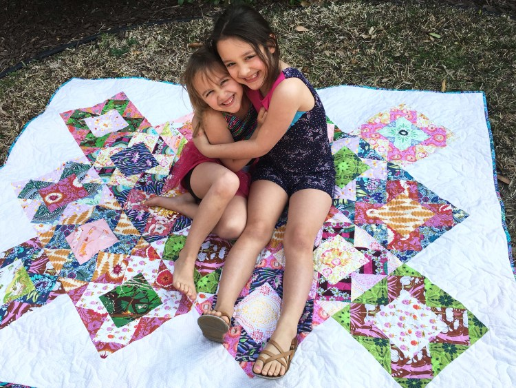 Vera quilt – Modern Quilting Pattern by Bryan House Quilts