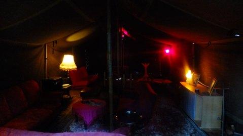 Tent atmosphere