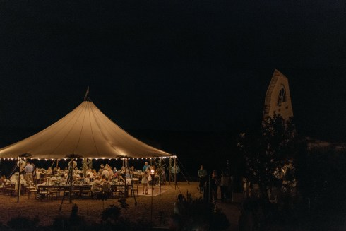 Gorgeous Tent at Night