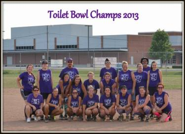 Toilet Bowl Champs 2013
