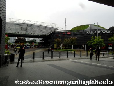 Kallang Wave Mall at Stadium MRT