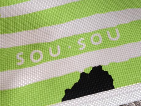 大丸松坂屋オリジナルエコバッグは「SOU・SOU」ロゴ入り