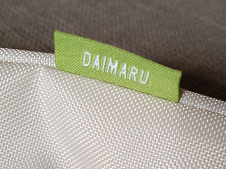 SOU・SOU大丸・松坂屋オリジナルエコバッグ「DAIMARU」のタグ