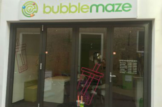 Review over de bubble tea bar: bubble maze