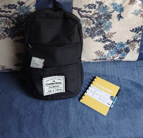 Correctbook backpack