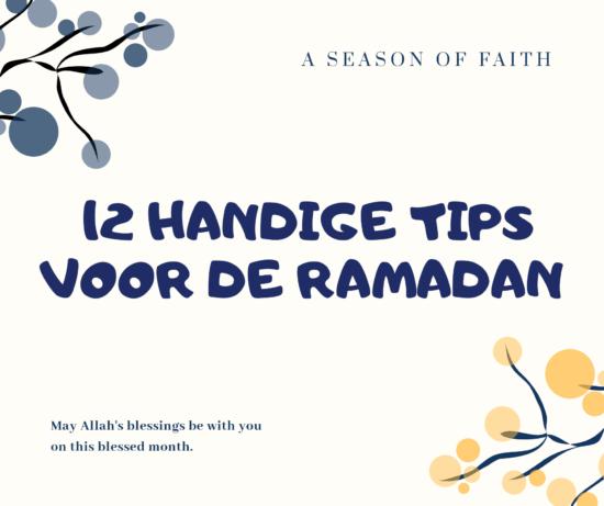 12 handige tips voor de ramadan.