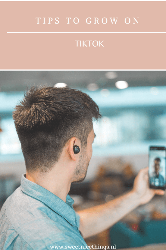 Tips to grow on Tiktok!