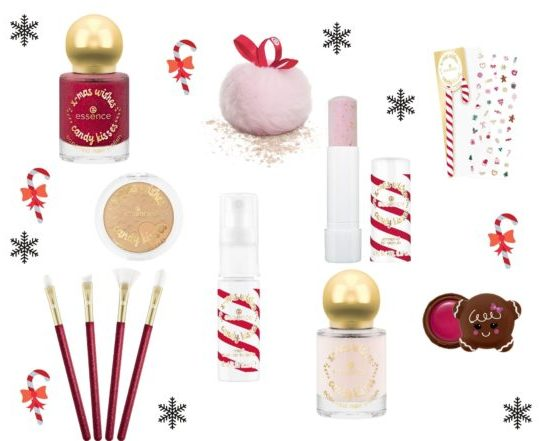 Christmas wishes Essence candy kisses